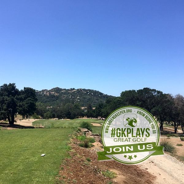 Boulder Oaks Golf Club Escondido California Hole 7