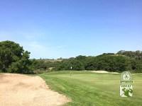 La Purisima Golf Course Lompoc California.   Hole-8 Green-side