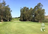 La Purisima Golf Course Lompoc California.   Hole-9