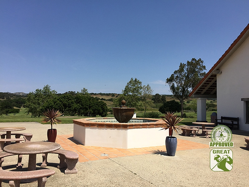 La Purisima Golf Course Lompoc California. Patio Area