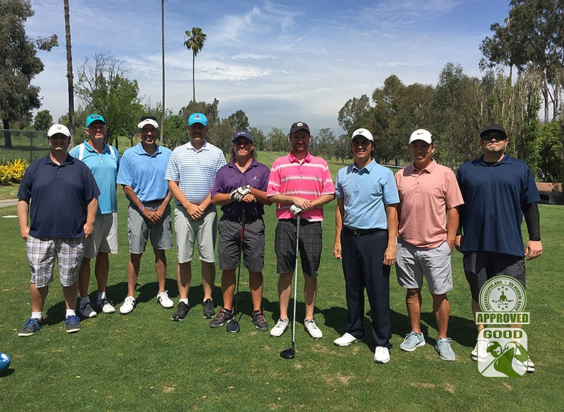 Los Serranos Country Club Chino Hills California - GK Review Gurus show up in force