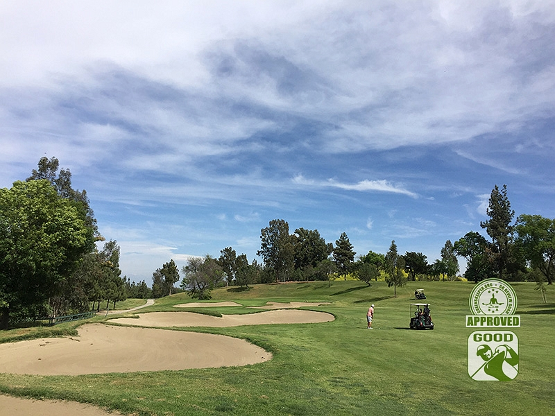 Los Serranos Country Club Chino Hills California Hole 14