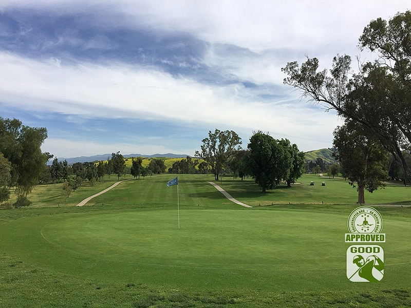 Los Serranos Country Club Chino Hills California Hole 16