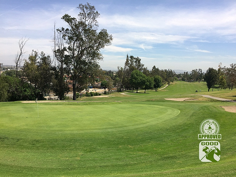 Los Serranos Country Club Chino Hills California Hole 3