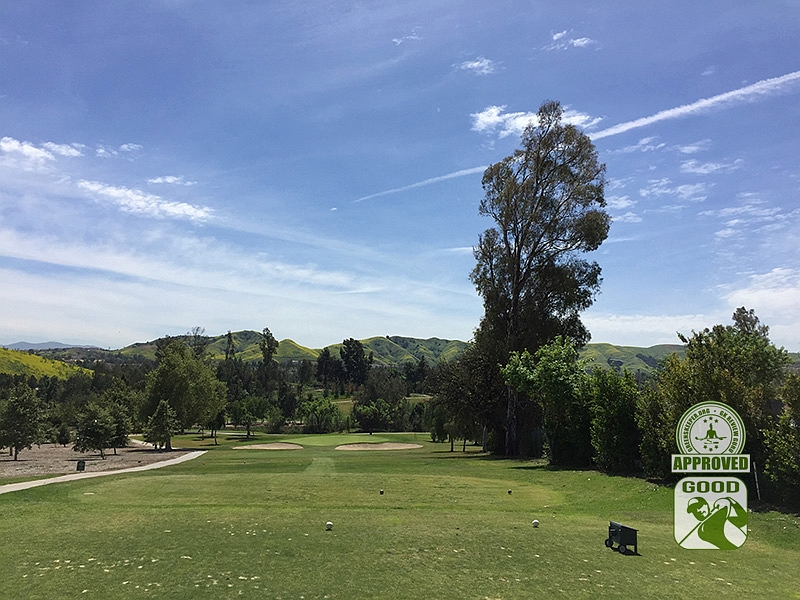 Los Serranos Country Club Chino Hills California Hole 6