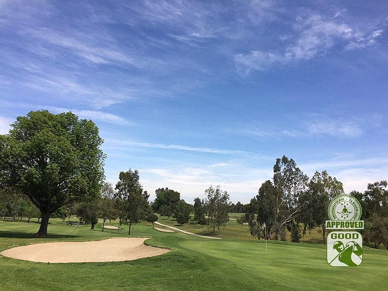 Los Serranos Country Club Chino Hills California Hole 9