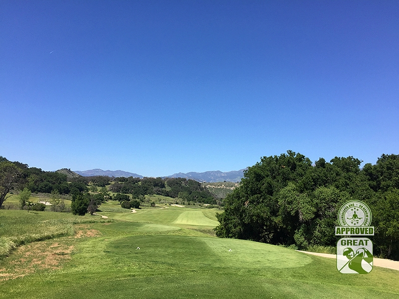 Rancho San Marcos Golf Course Santa Barbara California - Hole 11