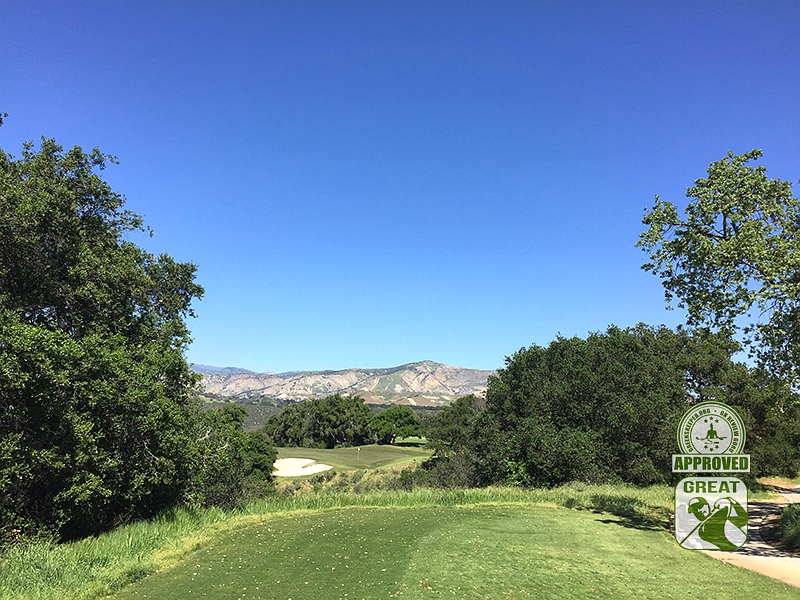 Rancho San Marcos Golf Course Santa Barbara California - Hole 14