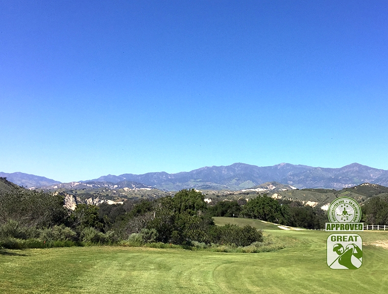 Rancho San Marcos Golf Course Santa Barbara California - Hole 15