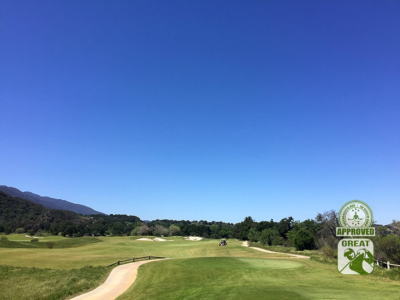 Rancho San Marcos Golf Course Santa Barbara California - Hole 4
