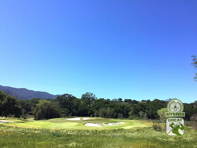 Rancho San Marcos Golf Course Santa Barbara California - Hole 7