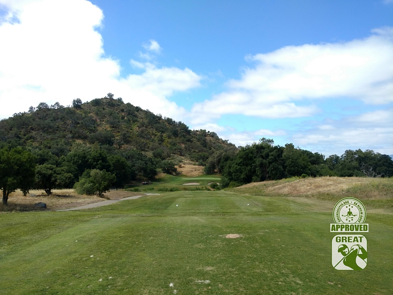 CrossCreek Golf Club Temecula California GK Review Guru Visit - Hole 3 Tee Box
