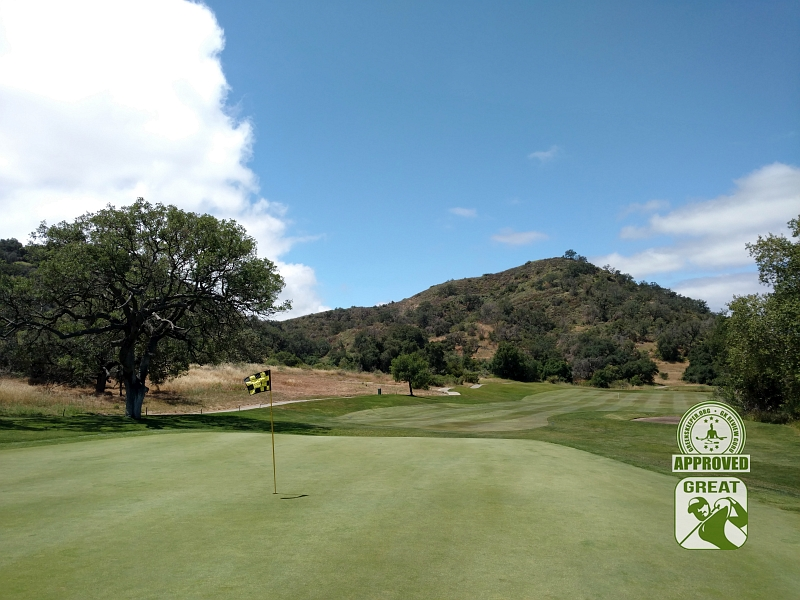 CrossCreek Golf Club Temecula California GK Review Guru Visit - Hole 4 Looking Back