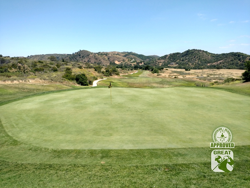 CrossCreek Golf Club Temecula California GK Review Guru Visit - Hole 11 Looking Back