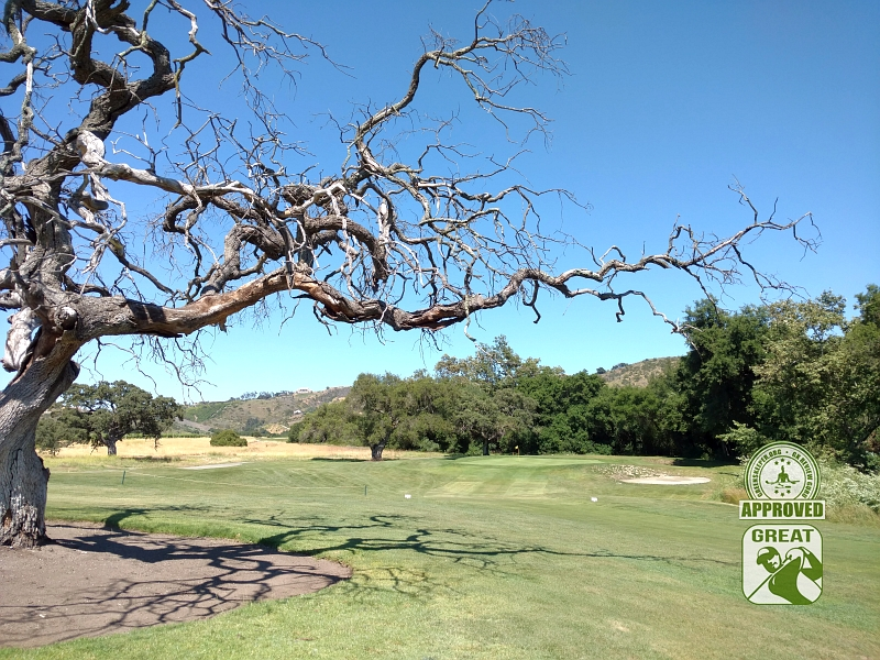 CrossCreek Golf Club Temecula California GK Review Guru Visit - Hole 1 Approach