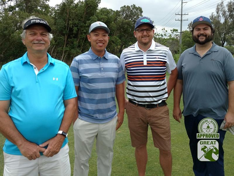 Goose Creek Golf Club Mira Loma California GK Review Guru Visit - Group Photo 2
