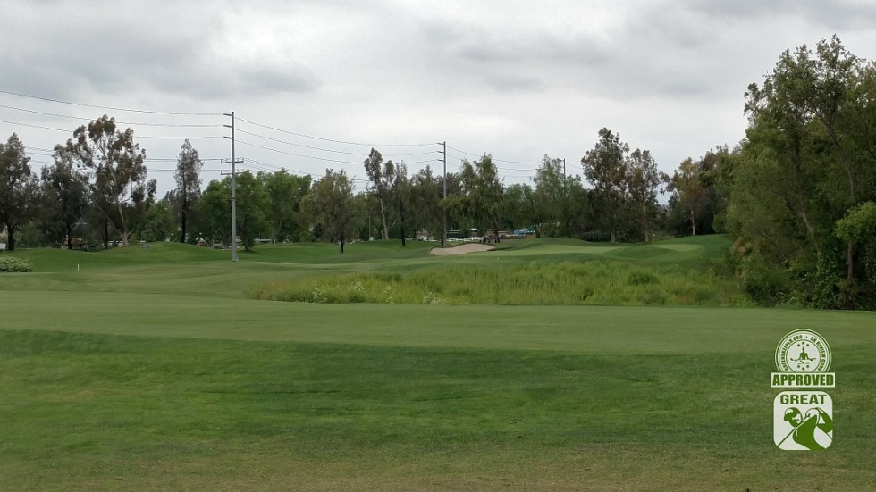 Goose Creek Golf Club Mira Loma California GK Review Guru Visit - Hole 9