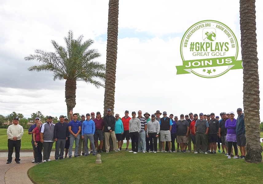 PGA WEST Nicklaus Tournament La Quinta California GK Plays - Our Group Photo