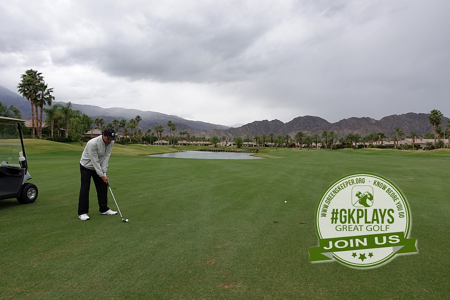 PGA WEST Nicklaus Tournament La Quinta California JohnnyGK trying to play the Hero with the Island Green