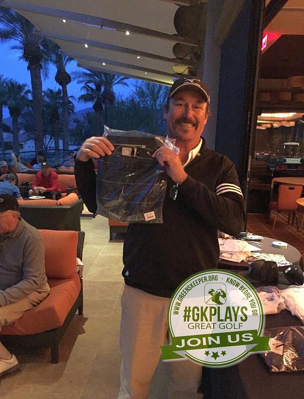 PGA West Nicklaus Tournament La Quinta California RatPatrol show off his LINKSOUL swag