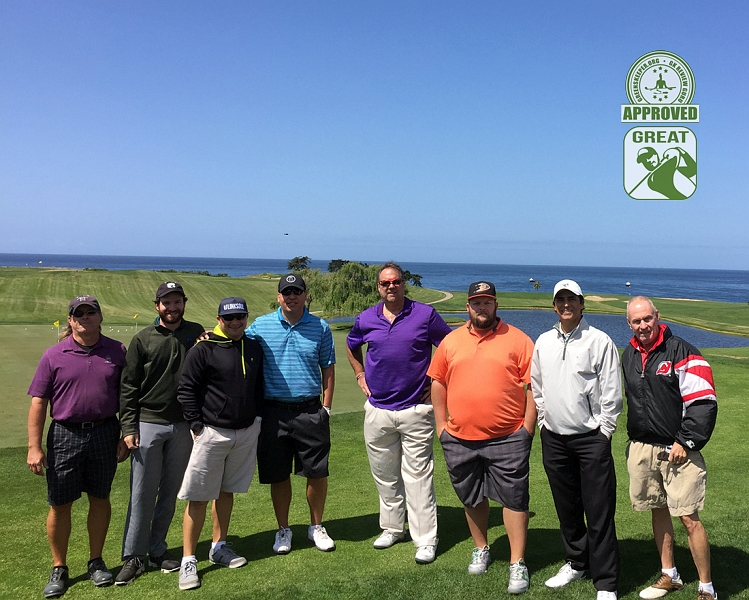 Sandpiper Golf Course Goleta California GK Review Guru Group Photo