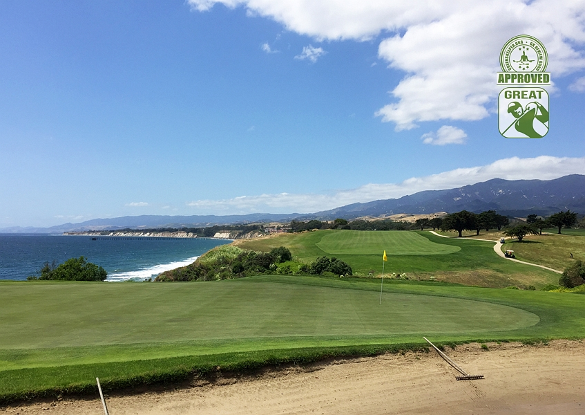 Sandpiper Golf Course Goleta California GK Review Guru Visit - Hole 13