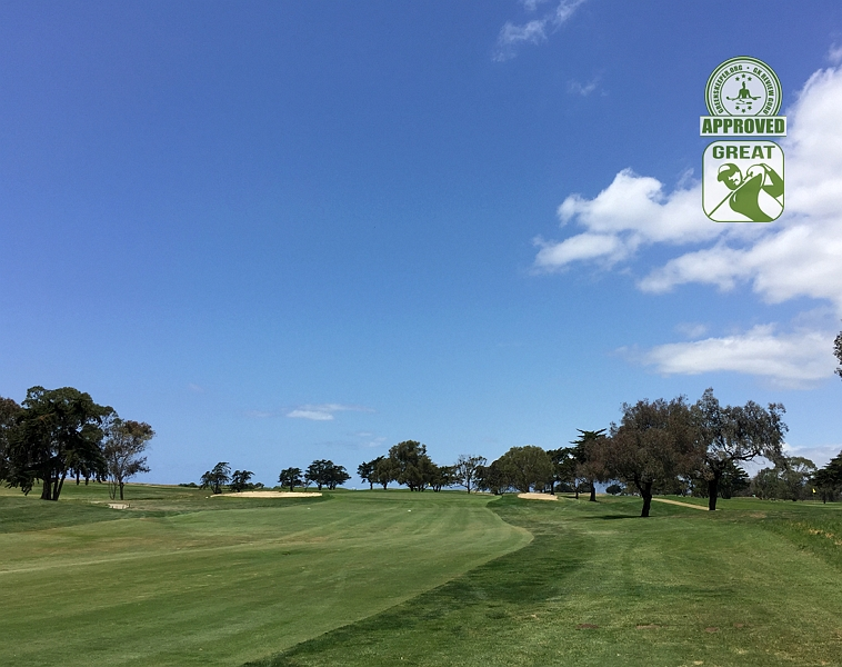 Sandpiper Golf Course Goleta California GK Review Guru Visit - Hole 8 Approach