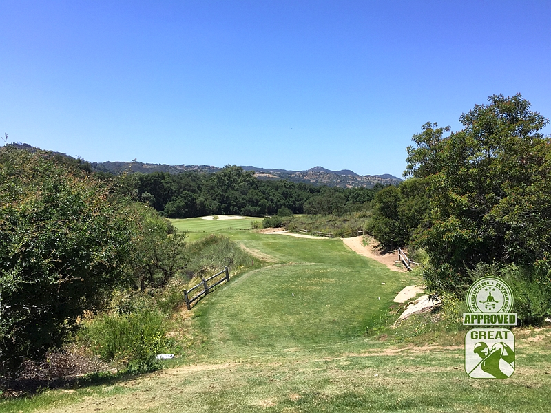 Woods Valley Golf Club Valley Center California. GK Review Guru Visit - Hole 15