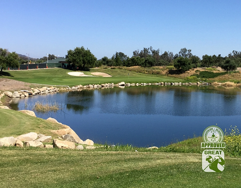 Woods Valley Golf Club Valley Center California. GK Review Guru Visit - Hole 3
