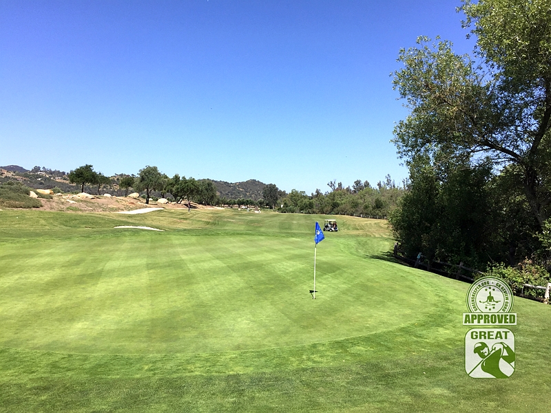 Woods Valley Golf Club Valley Center California. GK Review Guru Visit - Hole 6