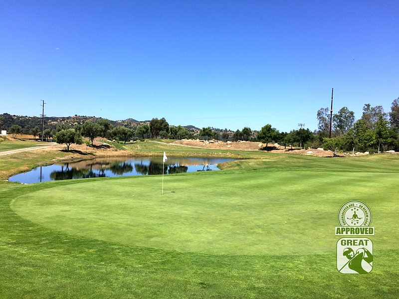 Woods Valley Golf Club Valley Center California. GK Review Guru Visit - Hole 8