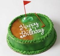 FREE Birthday Golf Cake