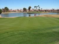 Sun City West Echo Mesa Golf Course Arizona. Hole 12