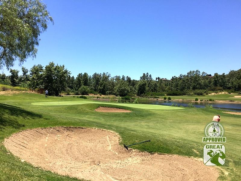 Golf Club of California Fallbrook California Hole 12 Approach
