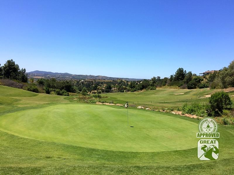 Golf Club of California Fallbrook California Hole 6