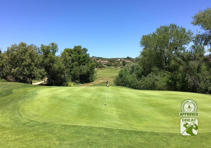 Golf Club of California Fallbrook California Hole 9