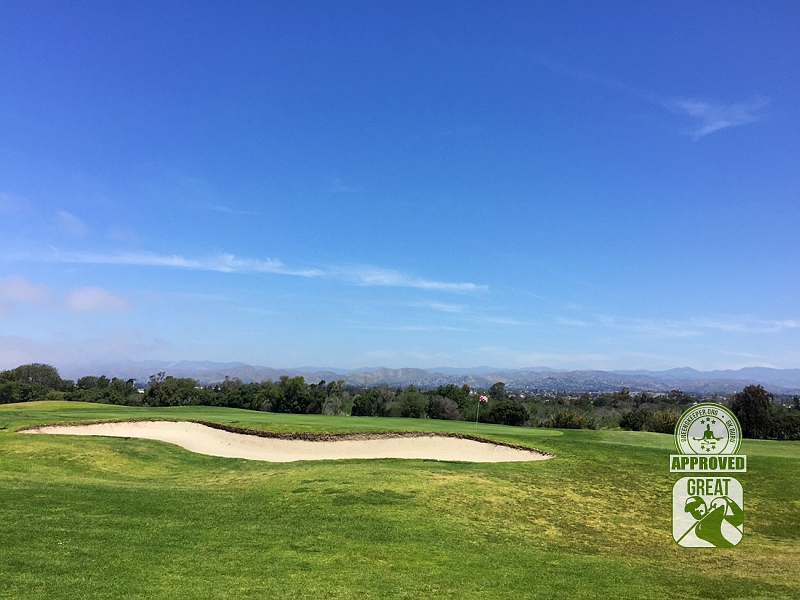 River Ridge Golf Club Vineyard Course Oxnard California GK Review Guru Hole 1