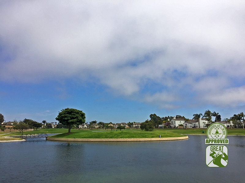 River Ridge Golf Club Vineyard Course Oxnard California GK Review Guru Hole 18