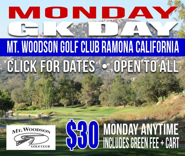 Mt. Woodson Golf Club Ramona California GK Day
