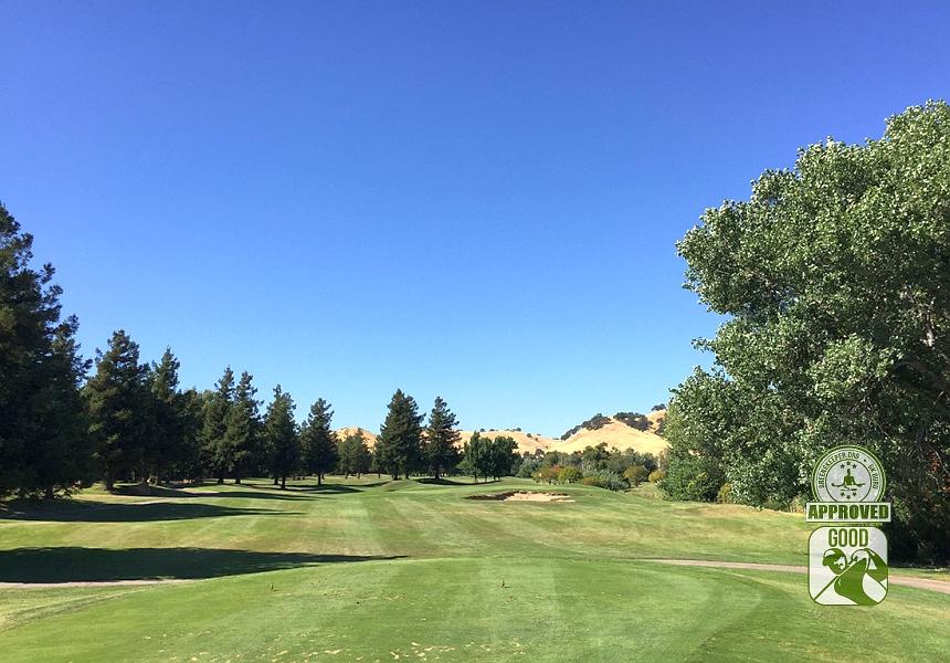 Paradise Valley Golf Course Fairfield California Hole 12