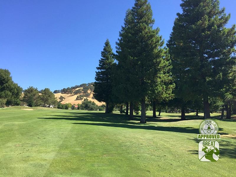 Rancho Solano Golf Course Fairfield California Hole 16 GK Guru Visit