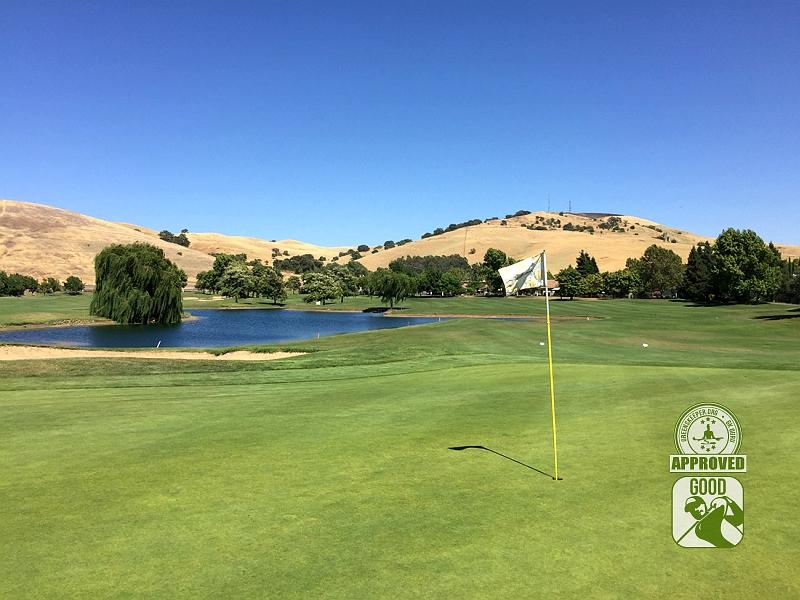 Paradise Valley Golf Course Fairfield California Hole 6