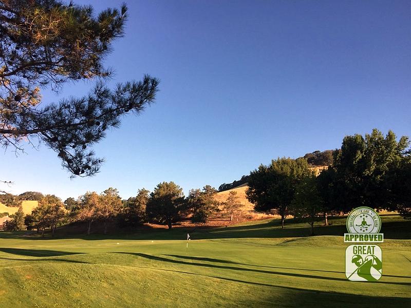 Rancho Solano Golf Course Fairfield California Hole 9