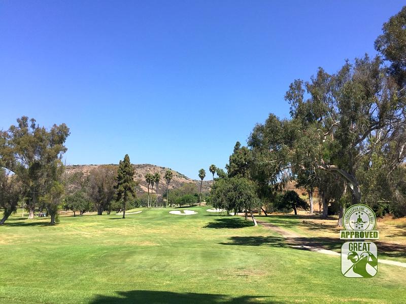 Marine Memorial Golf Course Camp Pendleton California. Hole 17