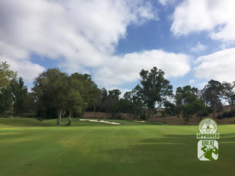 Marine Memorial Golf Course Camp Pendleton California. Hole 5