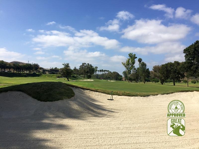 Marine Memorial Golf Course Camp Pendleton California. Hole 9