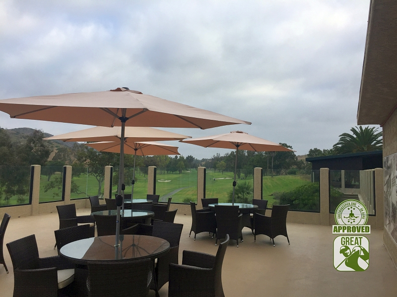 Marine Memorial Golf Course Camp Pendleton California. View from the Patio