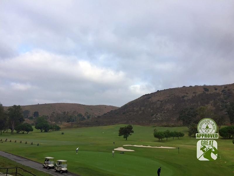 Marine Memorial Golf Course Camp Pendleton California. Practice Area