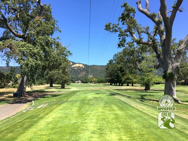 Oakmont Golf Club WEST Santa Rosa California Hole 11