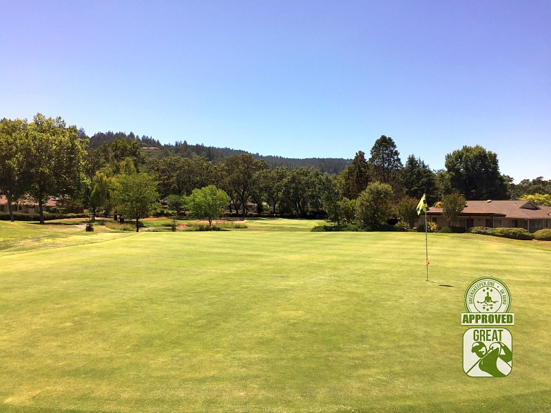 Oakmont Golf Club WEST Santa Rosa California Hole 15